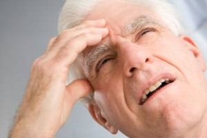 senior suffering from effects of insomnia