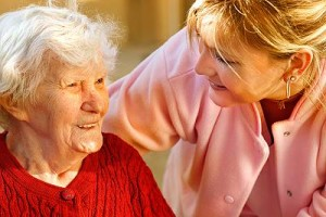 Elderly Alzheimer's Patient and Home Care Aide