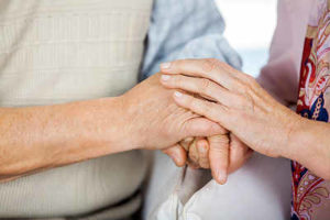 aging at home with help from an aide