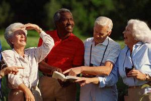seniors enjoying Broward county