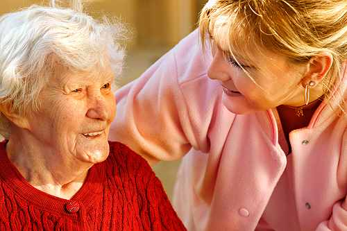 aging in place with a home care aide