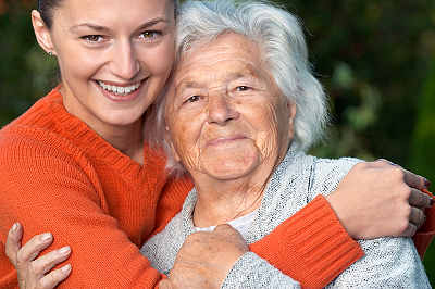 Aging loved one and granddaughter