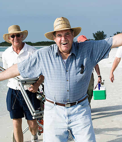 boca raton seniors at the beach